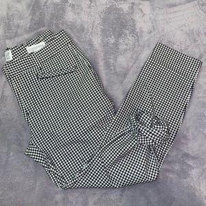 Women's Plaid Dress Pants